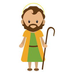 Ilustración de personaje de José
