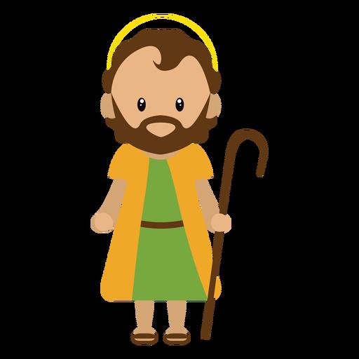 Joseph character illustration Transparent PNG