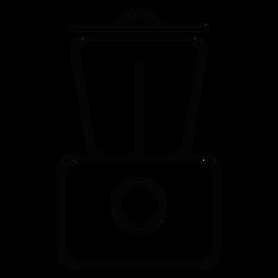 Ícono de licuadora de cocina