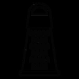 Icono de trazo de cocina rallador