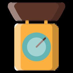 Ícone de balança de cozinha