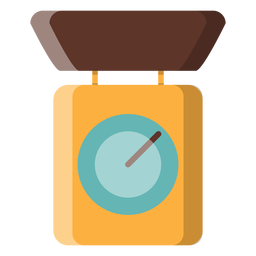 Kitchen scale icon