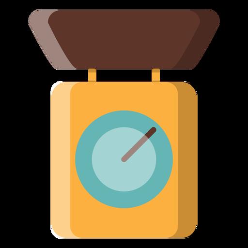 Ícone de balança de cozinha Transparent PNG