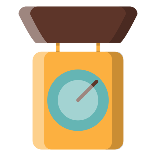 Kitchen scale icon Transparent PNG