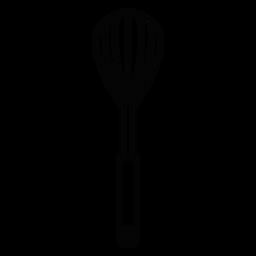 Küche Schneebesen Strich-Symbol