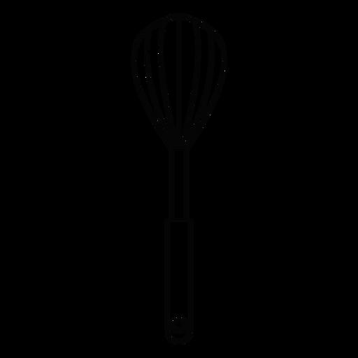 Icono de trazo de batidor de cocina Transparent PNG