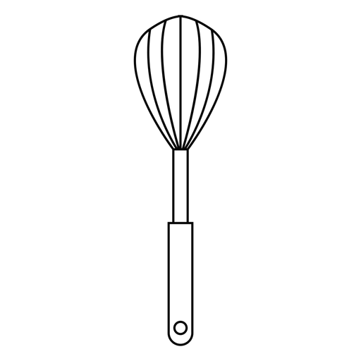 Kitchen whisk stroke icon Transparent PNG
