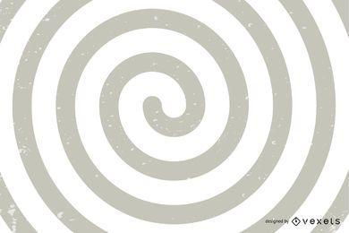 Spirale optische Täuschung