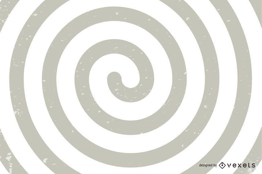 Ilusão de ótica em espiral