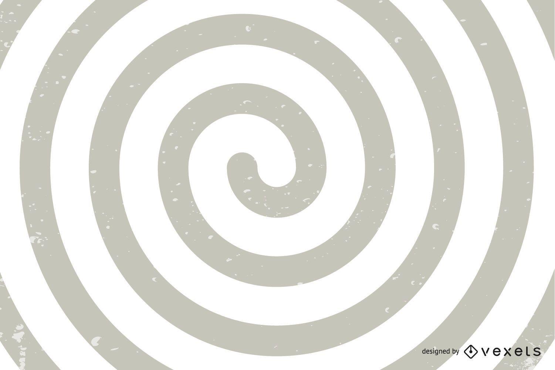 Ilusión óptica en espiral
