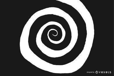 Irregular spiral shape