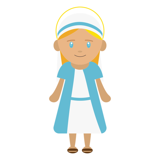 Mary character illustration Transparent PNG