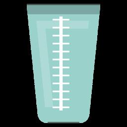 Ícone de copo de medição