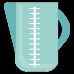 Icono de jarra de medición