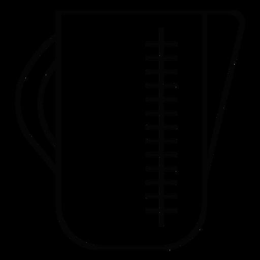 Measuring jug stroke icon Transparent PNG