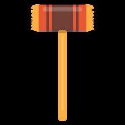 Fleischklopfer-Hammer-Symbol