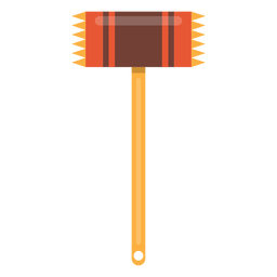 Meat tenderizer hammer icon