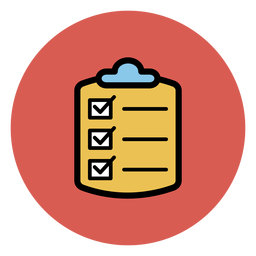 Medical checklist icon