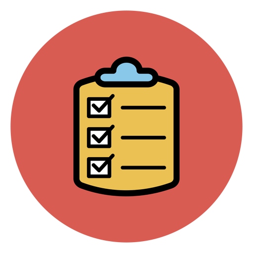 Medical checklist icon Transparent PNG