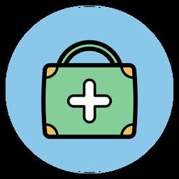 Icono de maleta medico