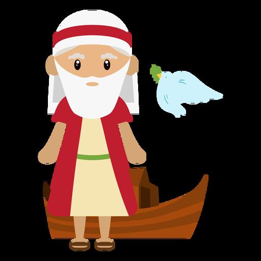 Noah ilustración de personaje Transparent PNG