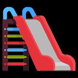 Ícone de slide ao ar livre