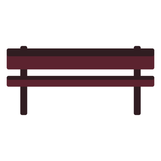 Ícone banco de parque Transparent PNG