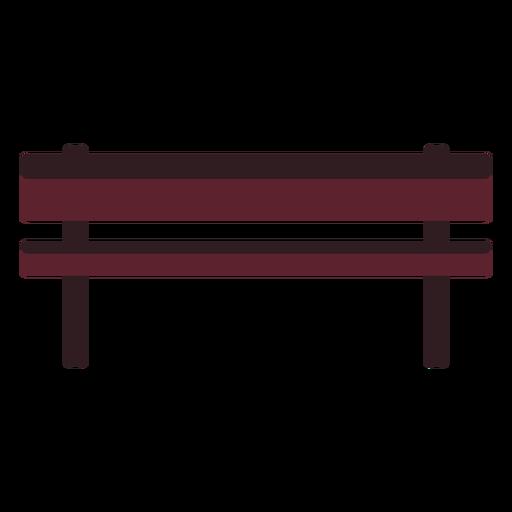 Icono de banco del parque