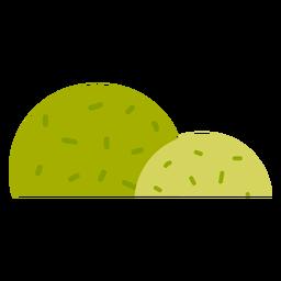 Park bush icon