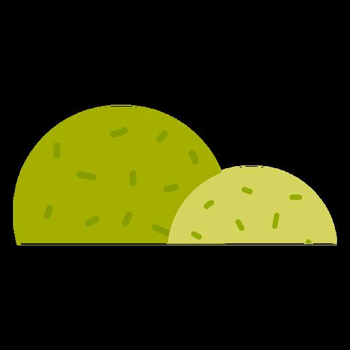 Icono de parque arbusto Transparent PNG