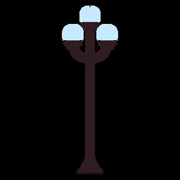 Icono de lámpara de parque
