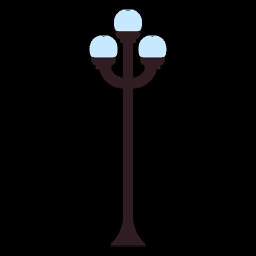 Icono de la lámpara del parque Transparent PNG
