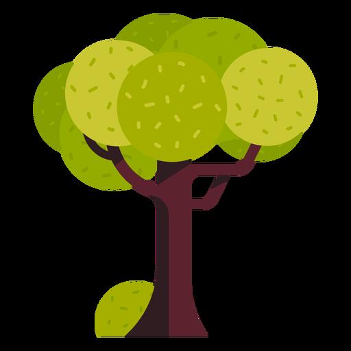 Icono de árbol de parque Transparent PNG