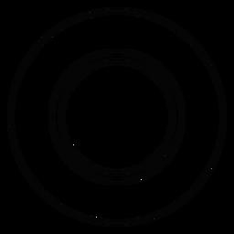 Teller Teller Strich Symbol