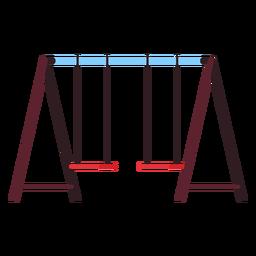 Ícone do balanço do campo de jogos
