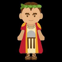 Pôncio pilate personagem ilustração