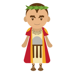Pontius pilate character illustration