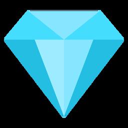 Diamante precioso icono plana