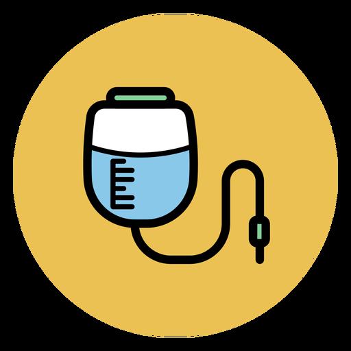 Ícone de saco de infusão de pressão Transparent PNG