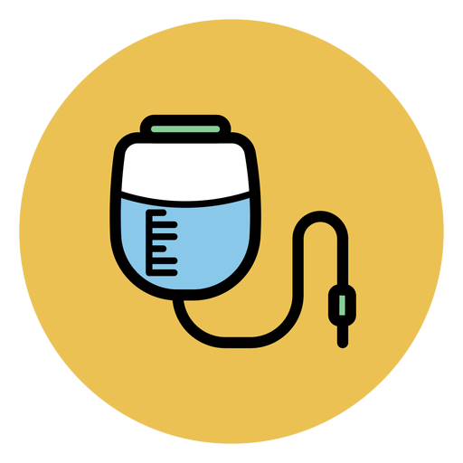 Pressure infusion bag icon Transparent PNG