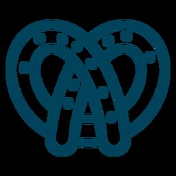 Brezel-Strich-Symbol