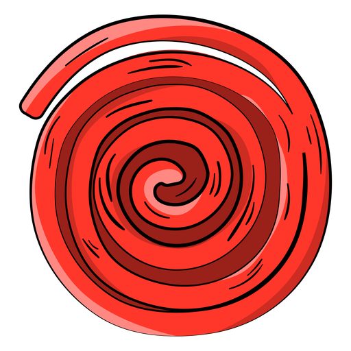 Dibujos animados de rueda de ricolice rojo Transparent PNG