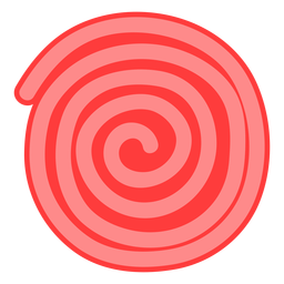 Ícone de roda ricolice vermelho