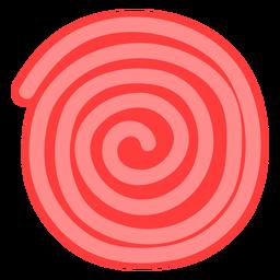 Icono de rueda de ricolice rojo