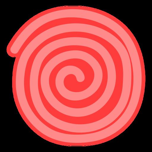 Ícone de roda ricolice vermelho Transparent PNG