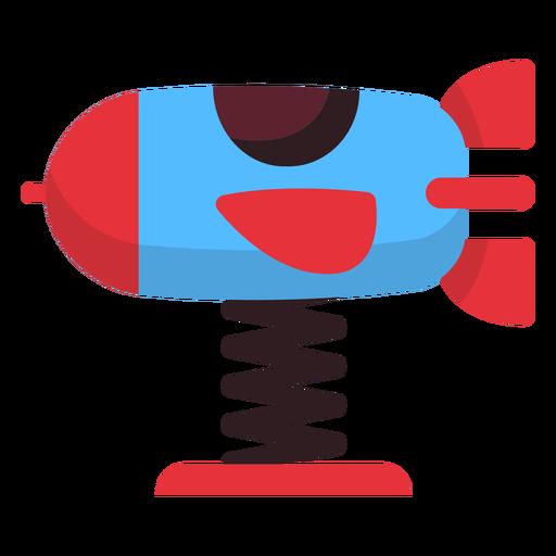 Icono de jinete de resorte de cohete