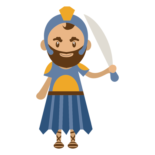 Roman character illustration Transparent PNG