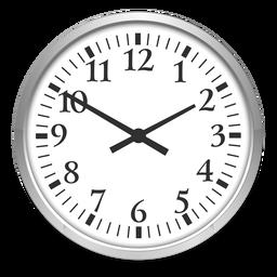 Ilustração do relógio redondo