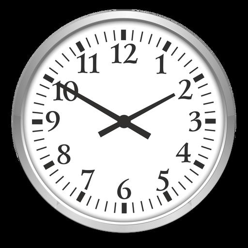 Ilustración de reloj redondo Transparent PNG