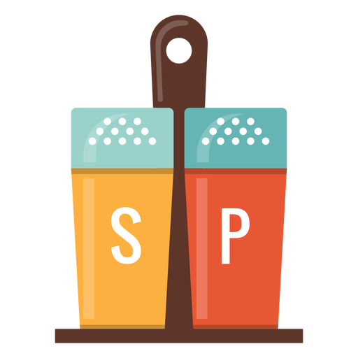 Salt and pepper icon Transparent PNG